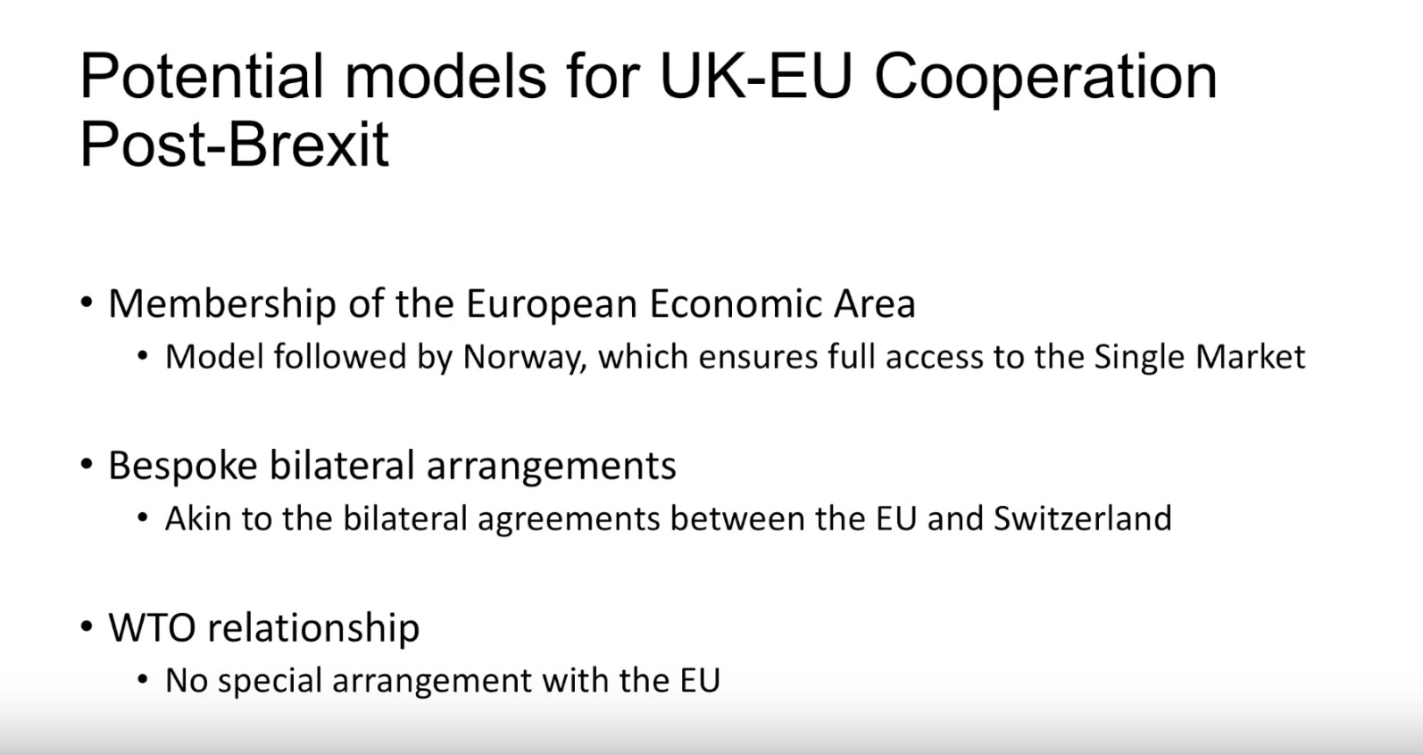 brexit  scenario planning for business resilience