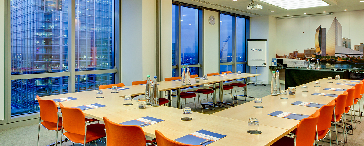 The View at CCT Venue Canary Wharf Bank Street, London | Venue