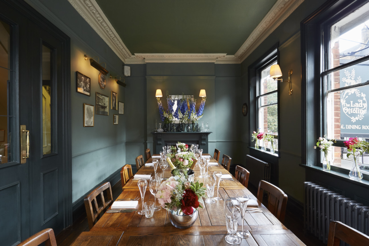 the upstairs at the lady ottoline